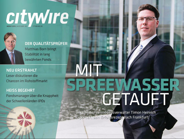 Citywire Deutschland Magazine Issue 8