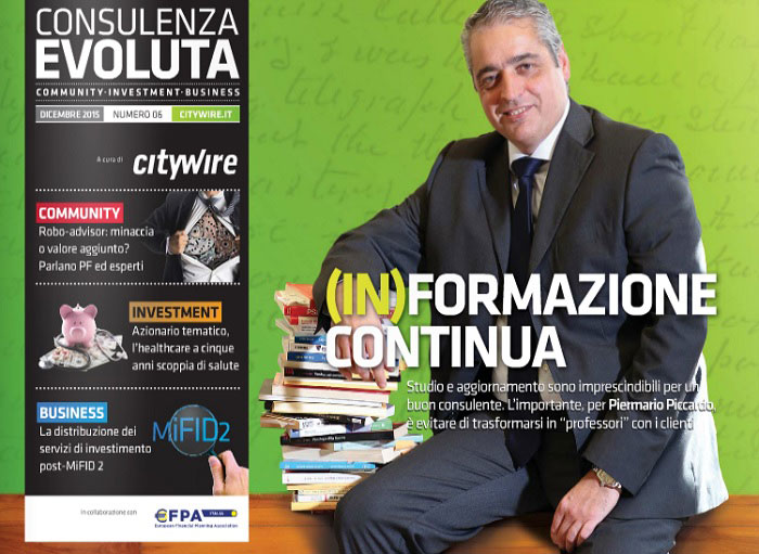 Citywire Consulenza Evoluta magazine Issue 6